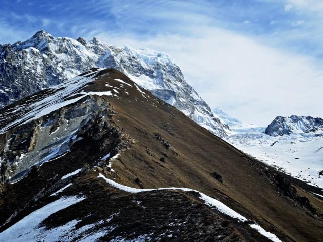 Trail to Kyanjin Ri (4773m)