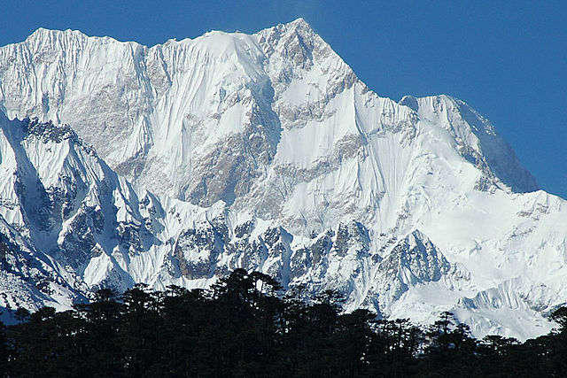 Kanchenjunga East Face