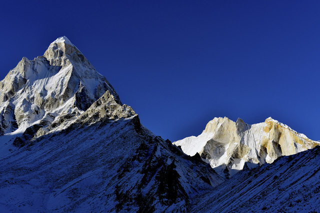 Mount Shivling and Meru