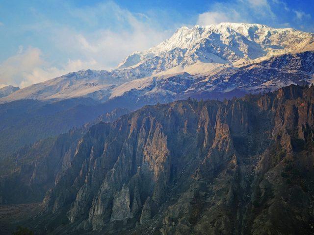 Annapurna III (7555m) from Manang