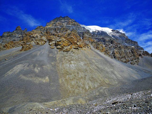 Colorful Thorong La Peak